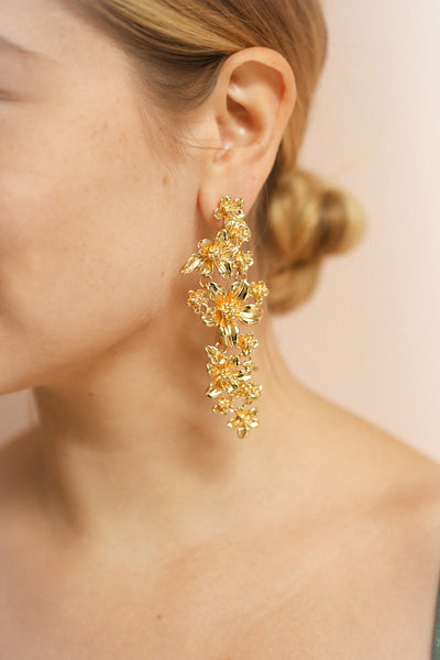 Kallaste | Gols Pendant Earrings