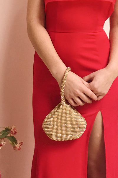 Kapolei Gold Crystal Wristlet | Sac à Main | Boutique 1861 model