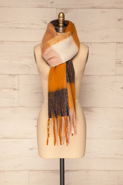 Kepice Fall Colorful Soft Scarf with Fringe | La Petite Garçonne loop through view