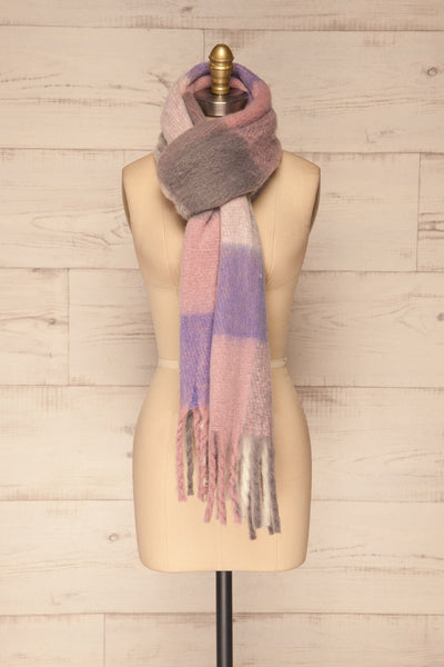 Kepice Spring Colorful Soft Scarf with Fringe | La Petite Garçonne loop through view