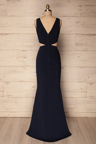 Kiira Navy | Mermaid Gown
