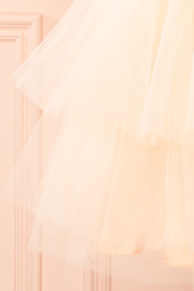 Kishy Peach Short Layered Tulle Skirt | Boutique 1861 7