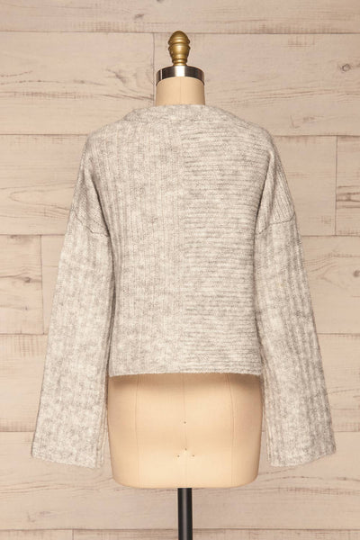 Kitee Mushroom Knit Sweater | Chandail | La Petite Garçonne back view