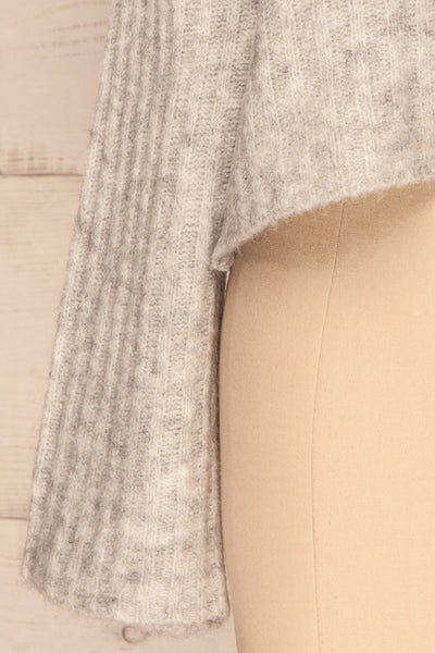 Kitee Mushroom Knit Sweater | Chandail | La Petite Garçonne bottom close-up