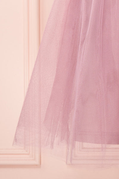 Kiyosu Figue | Lilac Tulle Dress