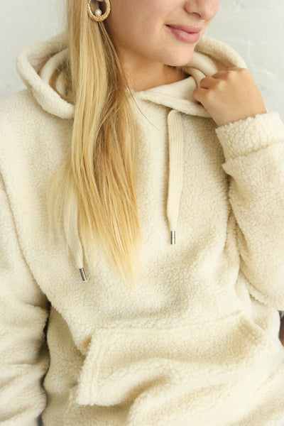 Labin Ivory | Wooly Fleece Sweater