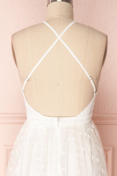 Lenore | White Tulle Dress