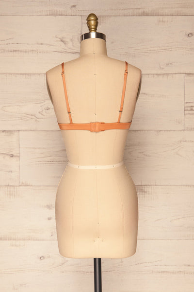 Lexie Orange Triangle Bralette | La Petite Garçonne Chpt. 2 back view