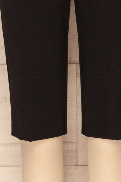 Lieksa Black Bermuda Shorts w/ Pockets | La petite garçonne bottom