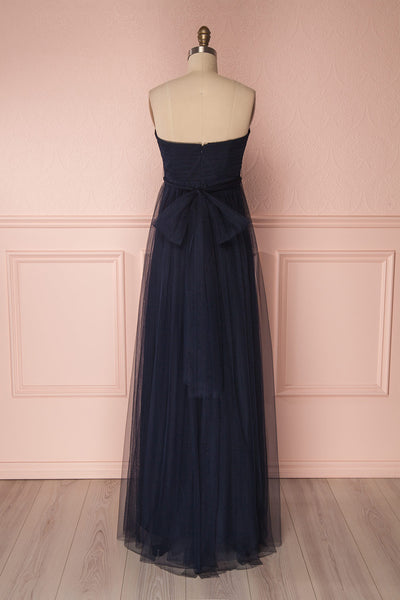 Linaya Navy | Tulle Polymorphous dress