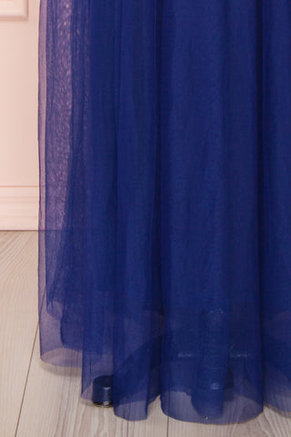 Loranne Royal Blue Maxi Dress | Robe Maxi skirt | Boutique 1861