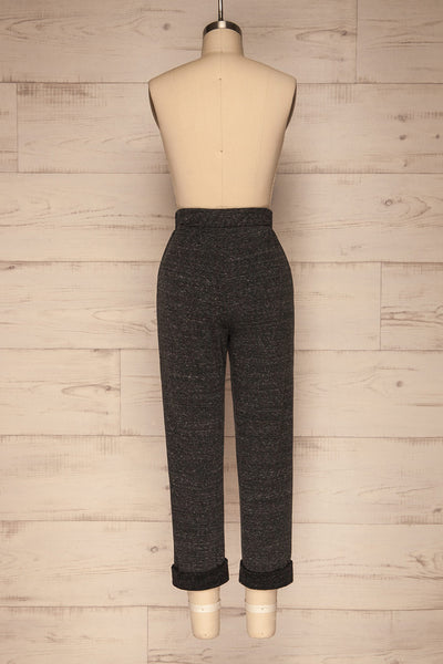 Lubeck Grey Jogging Pants | Pantalon | La Petite Garçonne back view
