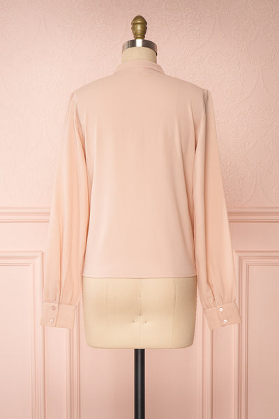 Lubien Dusty Rose Pink Long Sleeved Shirt | Boutique 1861 back view