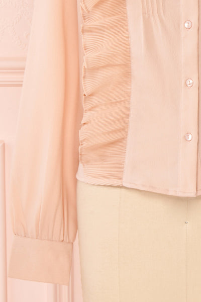 Lubien Dusty Rose Pink Long Sleeved Shirt | Boutique 1861 bottom