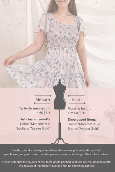 Mahima Lavender Patterned Short Dress | Boutique 1861 template