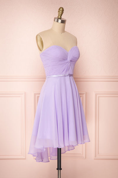 Maliha Lilac Bustier A-Line Prom & Bridesmaid Dress | Boudoir 1861 3