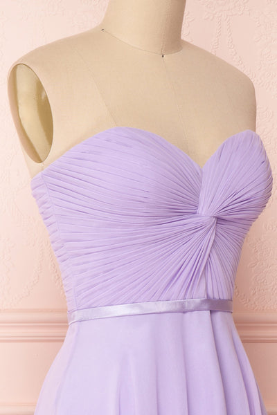 Maliha Lilac Bustier A-Line Prom & Bridesmaid Dress | Boudoir 1861 4