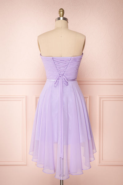 Maliha Lilac Bustier A-Line Prom & Bridesmaid Dress | Boudoir 1861 5