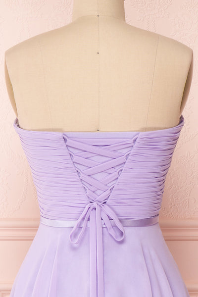 Maliha Lilac Bustier A-Line Prom & Bridesmaid Dress | Boudoir 1861 6