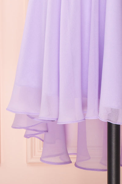 Maliha Lilac Bustier A-Line Prom & Bridesmaid Dress | Boudoir 1861 7