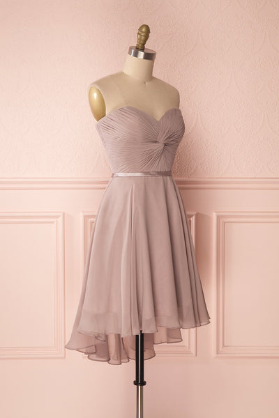 Maliha Moon Dusty Mauve Bustier A-Line Prom Dress | Boudoir 1861