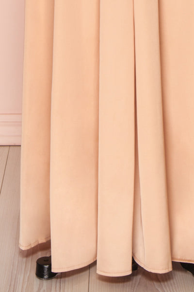 Mana Rosegold Maxi Dress w/ Sequins | Boutique 1861 skirt