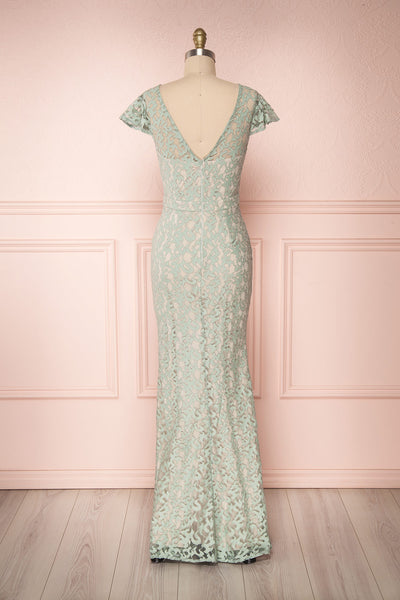Marianne | Green Lace Gown