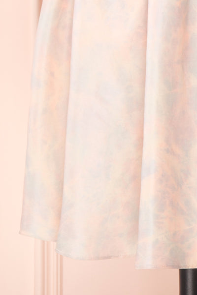 Marinna Pastel Puffy Long Sleeve Midi Dress | Boutique 1861 bottom