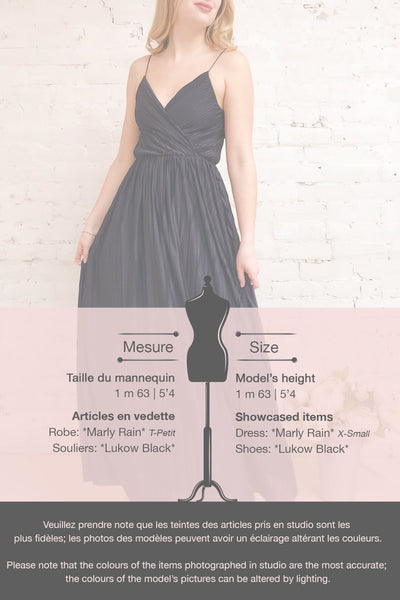 Marly Rain Navy Blue Sleeveless A-Line Dress | Boutique 1861 template 1