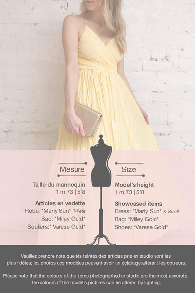 Marly Sun Yellow Sleeveless A-Line Dress | Boutique 1861 template