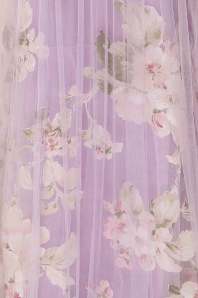 Marylou Lavender | Purple Floral Gown