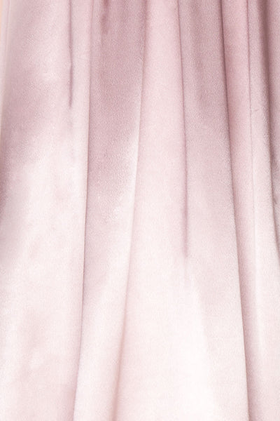 Mayla Blush | Pink Silky Gown