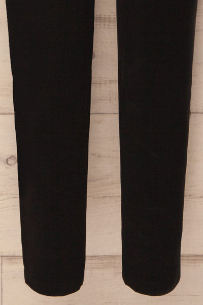 Mazy Black Straight Leg Dress Pants | La Petite Garçonne 7