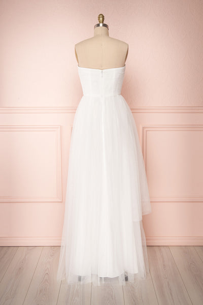 Meole Snow | White Tulle Dress