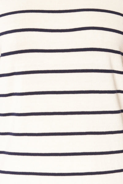Middlesbrough Striped Long Sleeve Top | La petite garçonne  fabric
