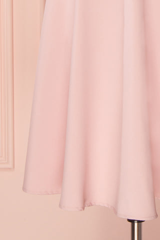 Migda Light Pink Midi Circle Skirt | Boutique 1861 7