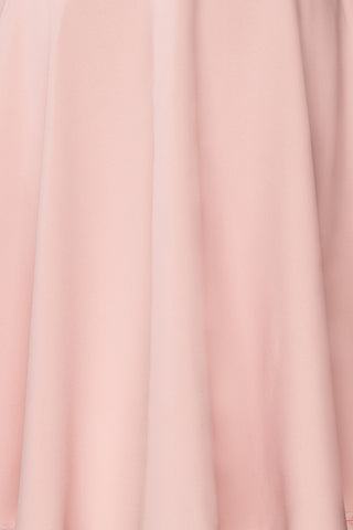Migda Light Pink Midi Circle Skirt | Boutique 1861 8
