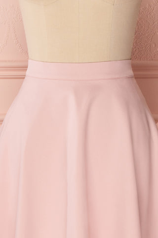 Migda Light Pink Midi Circle Skirt | Boutique 1861 2
