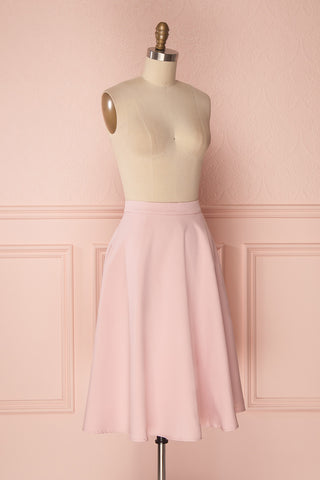 Migda Light Pink Midi Circle Skirt | Boutique 1861 3