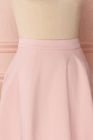 Migda Light Pink Midi Circle Skirt | Boutique 1861 4