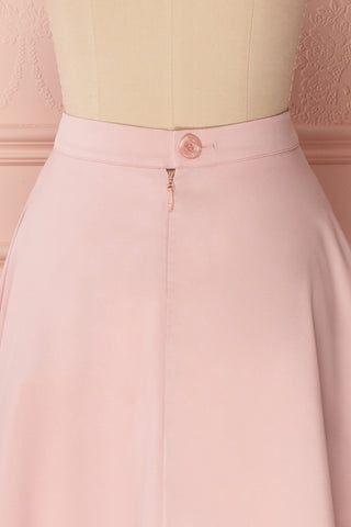 Migda Light Pink Midi Circle Skirt | Boutique 1861 6