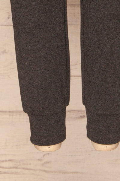 Mirano Washed Black Casual Joggers | La petite garçonne  bottom
