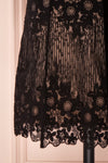 Nuying Black & Beige Lace A-Line Cocktail Dress | Boutique 1861 7