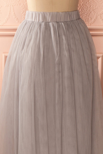 Nydie Fog - Grey maxi tulle skirt 6
