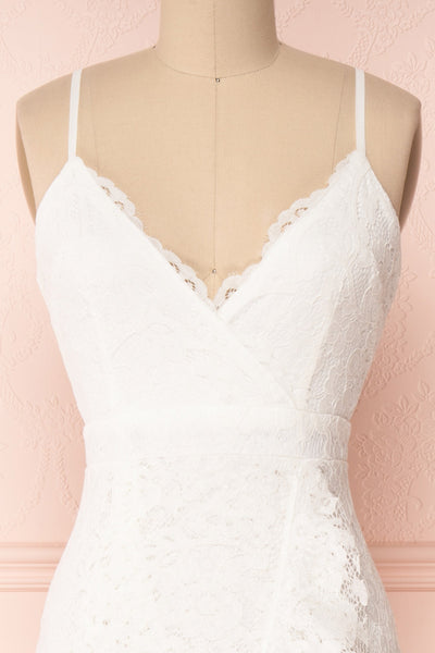 Ogaki White Lace Mermaid Gown | Boutique 1861 2