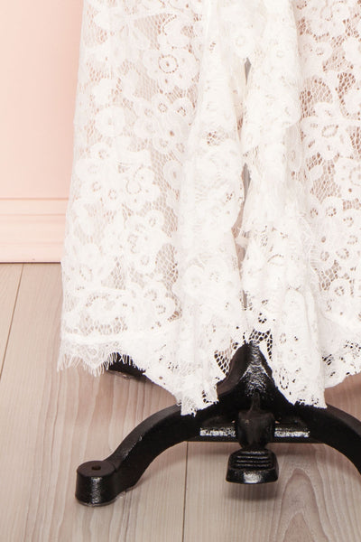 Ogaki White Lace Mermaid Gown | Boutique 1861 7