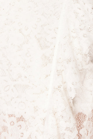 Ogaki White Lace Mermaid Gown | Boutique 1861 8
