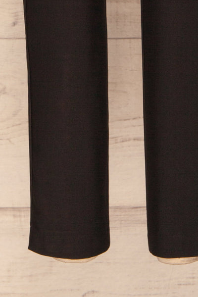 Orleans Black Pants | Pantalon Noir | La Petite Garçonne bottom close-up
