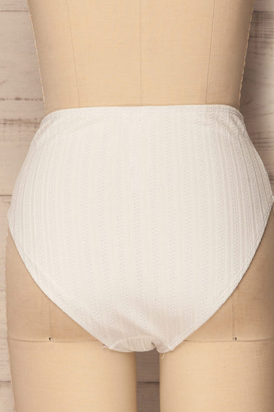 Orsenigo White High Waisted Bikini Bottom | La Petite Garçonne 7