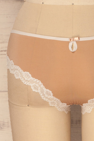 Osimo Beige | Brazilian Cut Panties